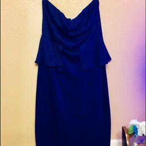 Charlotte Russe size L strapless semi formal dress